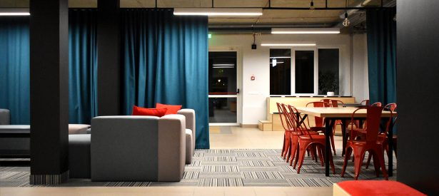 student lounge. Ventspils University College