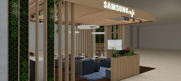 concept café. Samsung Euronics Tallinn