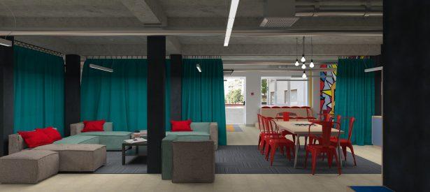 student lounge concept. Ventspils University College