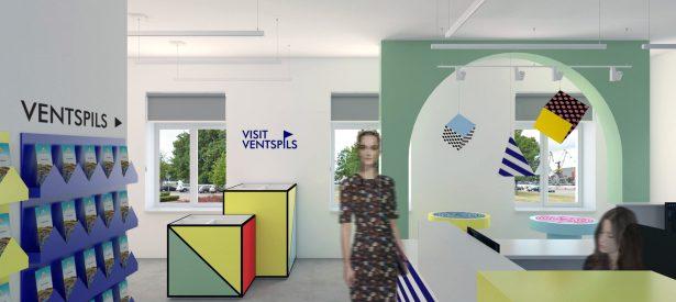 tourism information office I. Ventspils